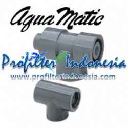 Aquamatic Ejector Q 5405 0.50 inch PVC Blue 1070352  large
