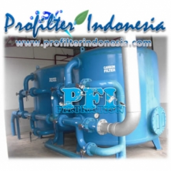 PFI MSF 48 MS PROFILTER Multimedia Sand Filter 40000 liters per hour Profilter Indonesia  large