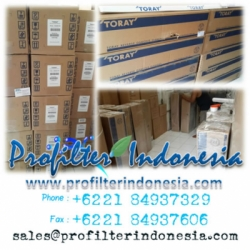 Toray Seawater Membrane Profilter Indonesia  large