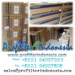 Toray Seawater Membrane Profilter Indonesia  large
